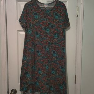 LuLaRoe Large Carly Dress